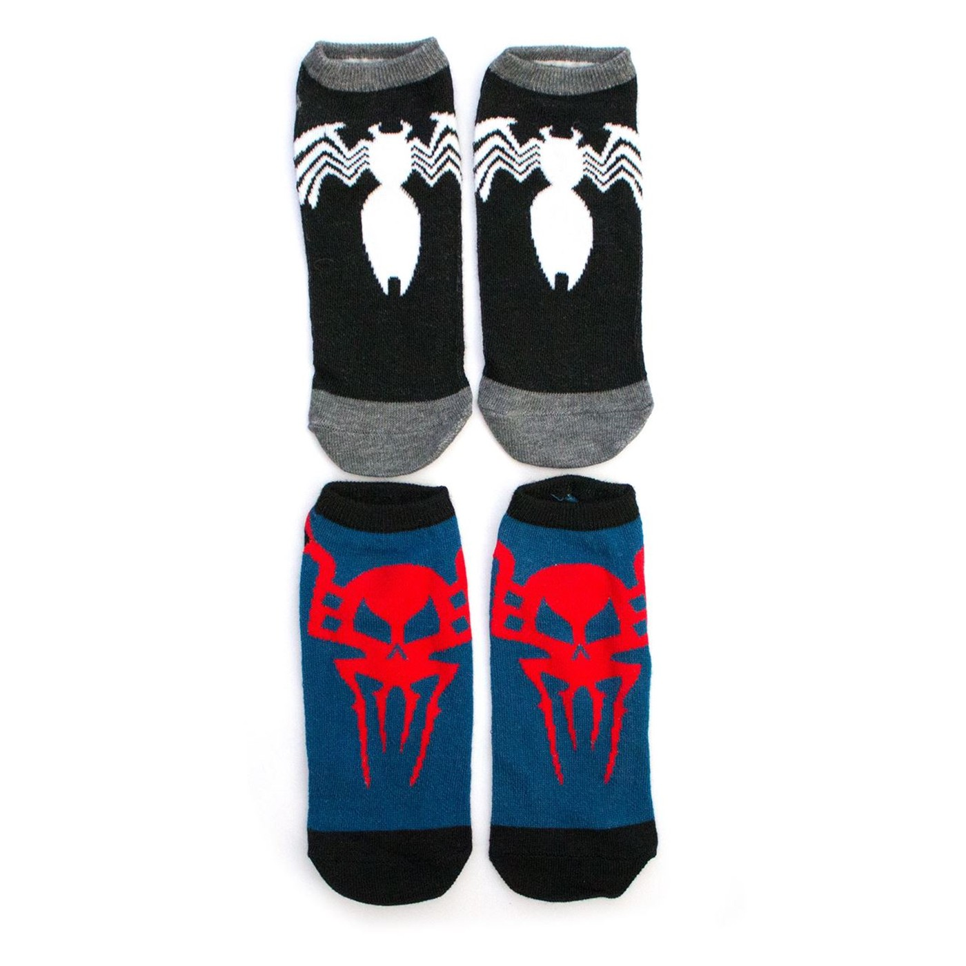 Venom and Spider-Man 2-pack Women's Ankle socks