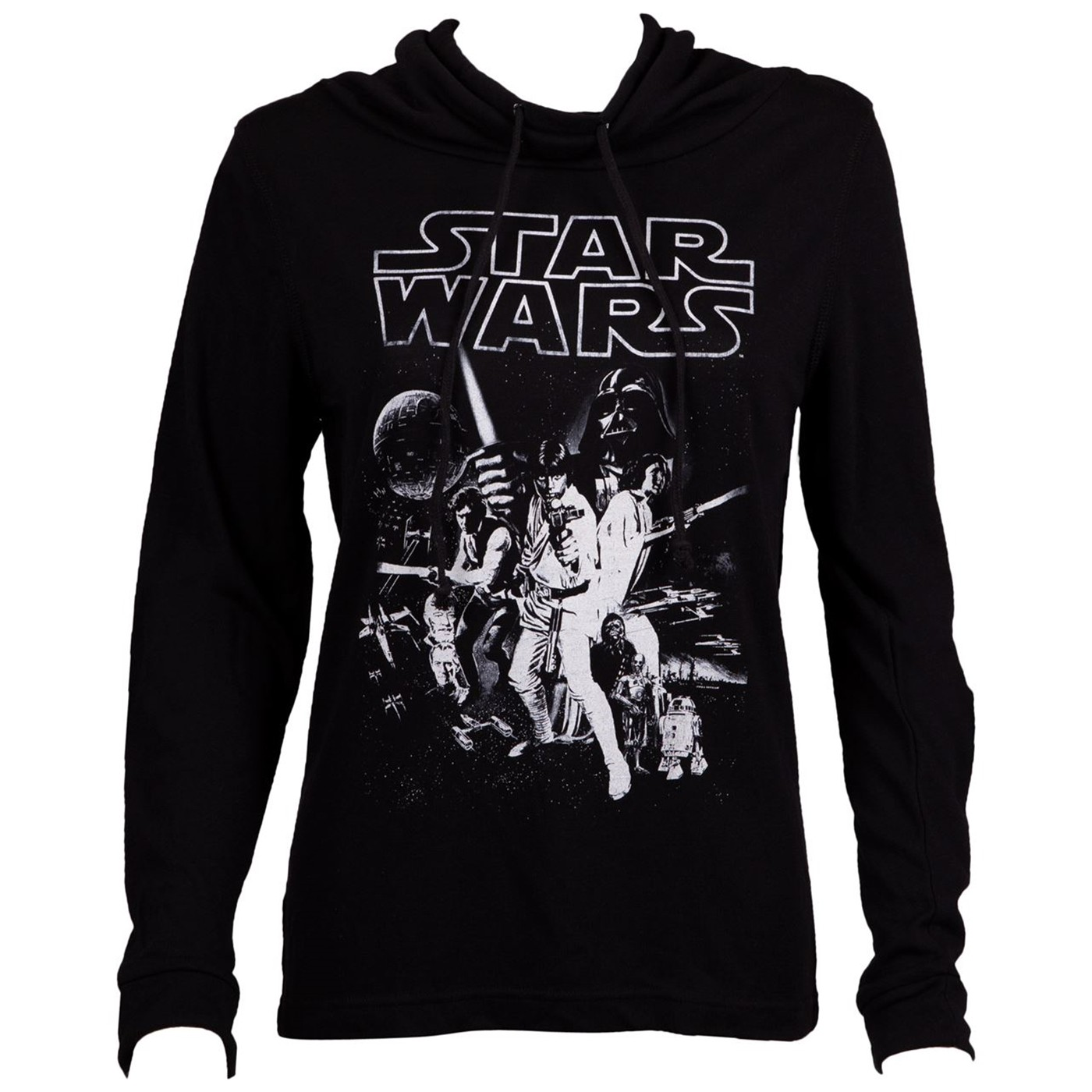 Star Wars New Hope Poster Long Sleeve Women's T-Shirt