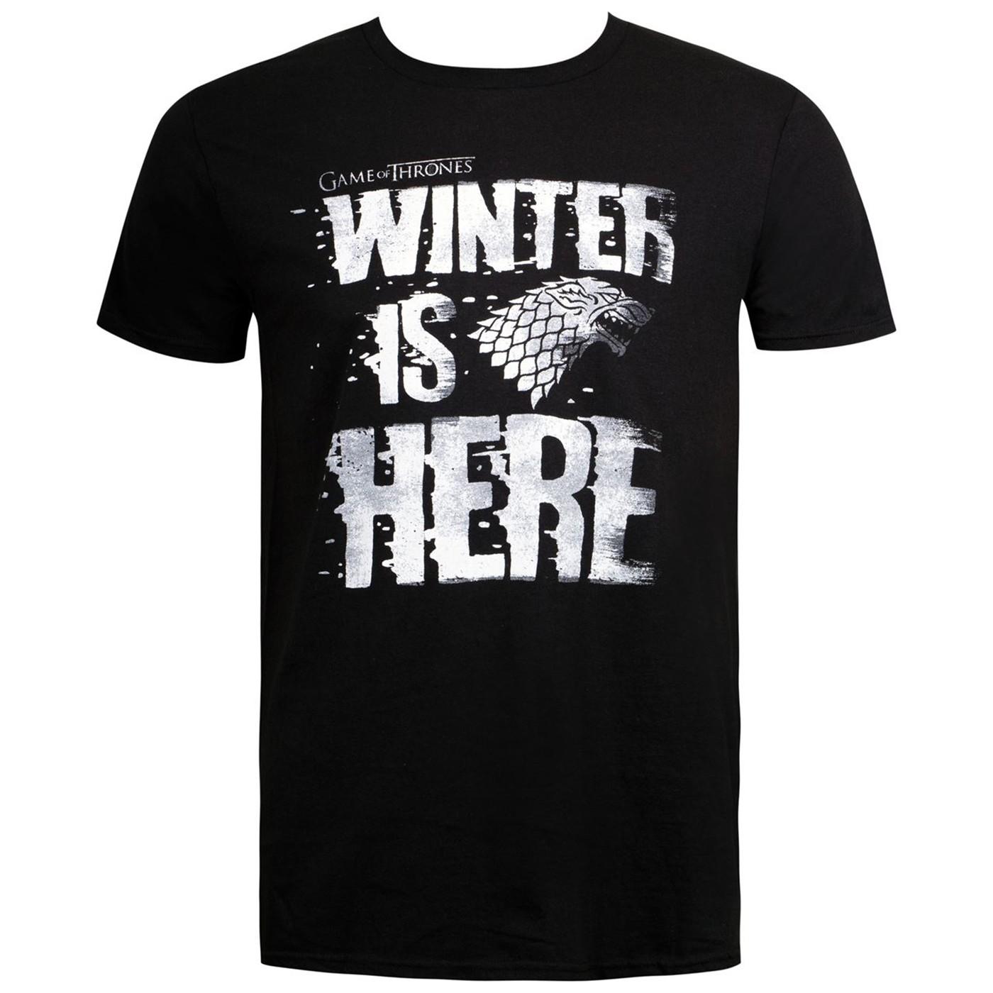 Winter Is HERE Game Of Thrones Men's T-Shirt