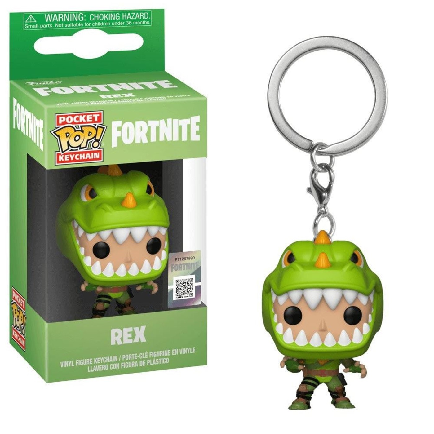 Pop! Keychain: Fortnite - Rex