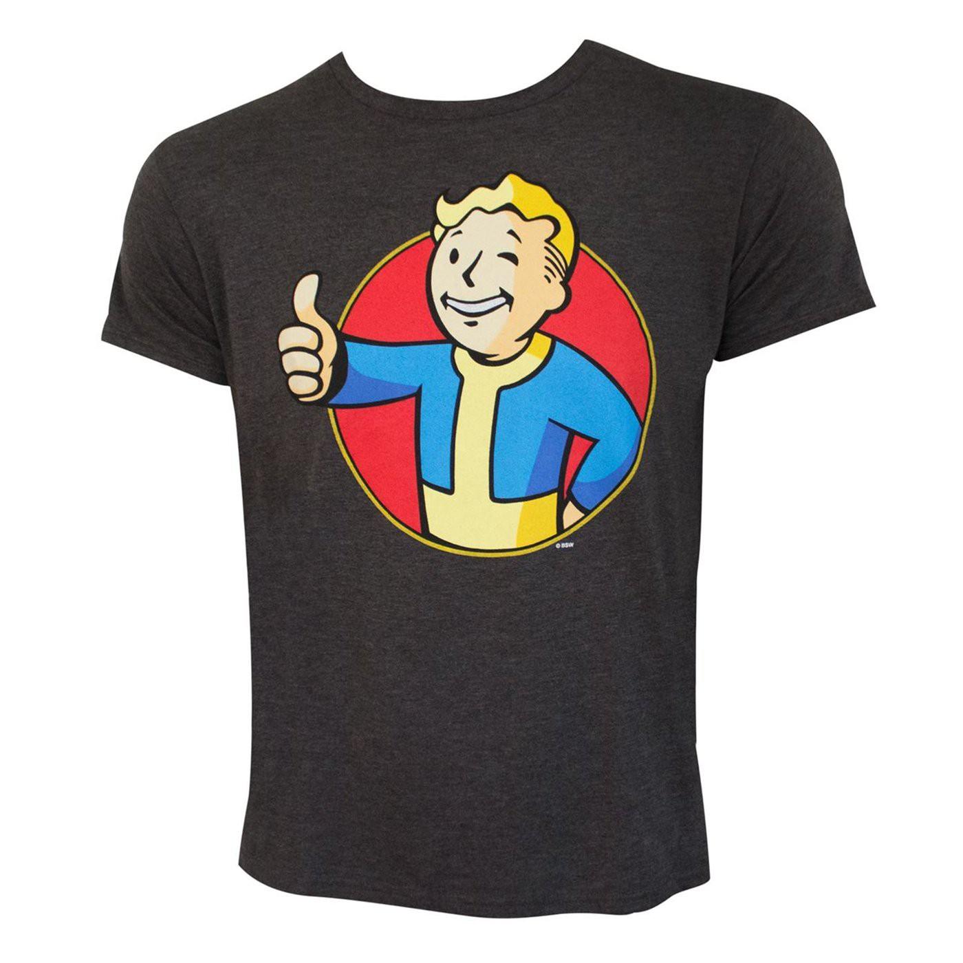 Fallout Vault Boy Men's T-Shirt