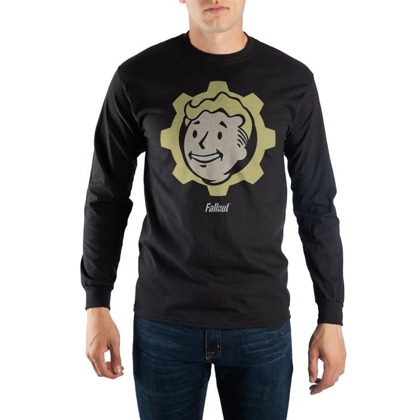 Fallout Vault Boy Logo Long Sleeve Shirt