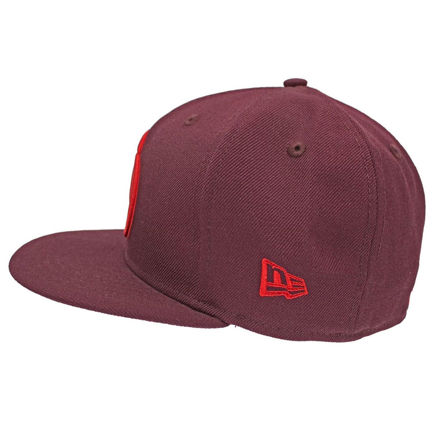 Daredevil Red Symbol on Maroon 59Fifty Hat