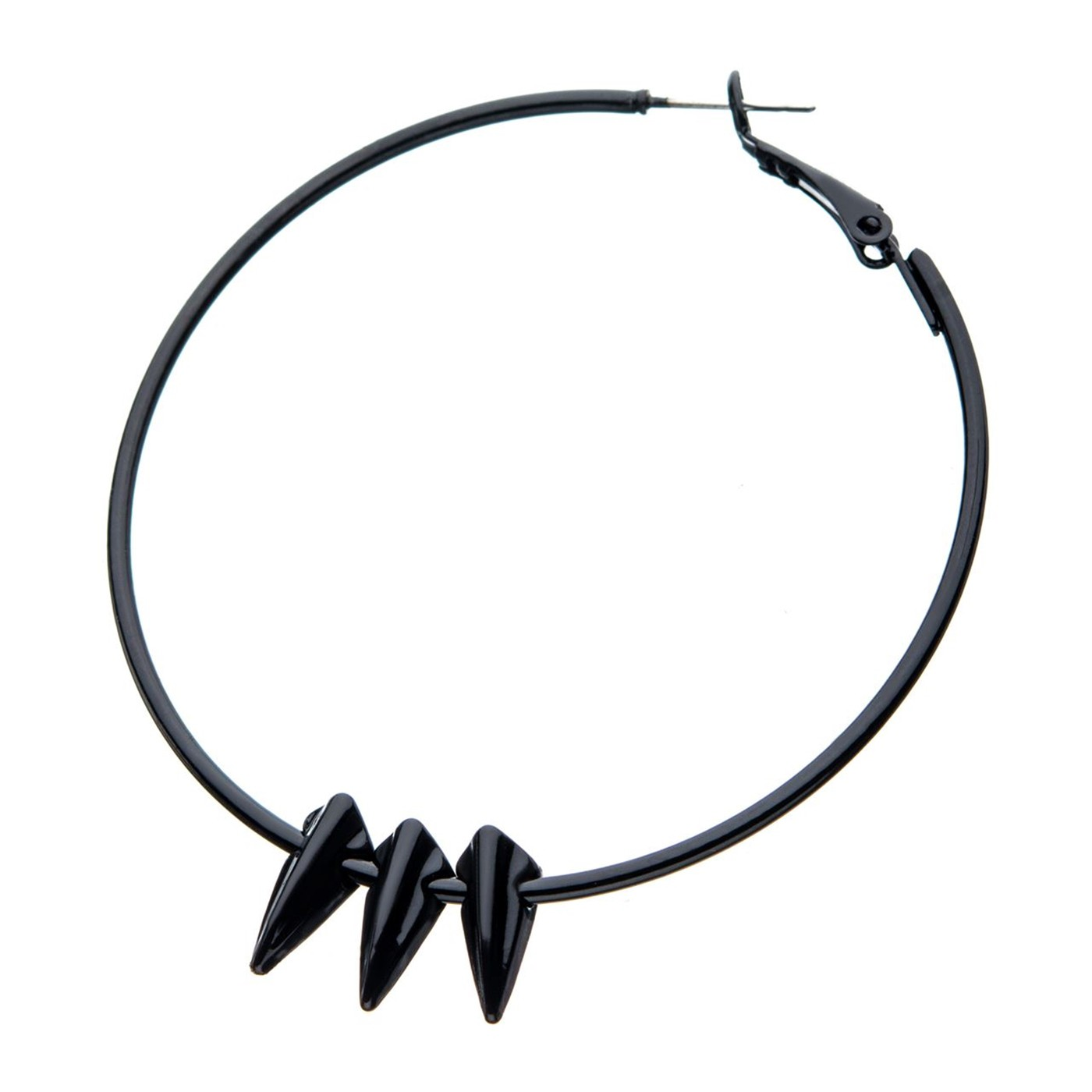 Black Panther Claws Hoop Earrings