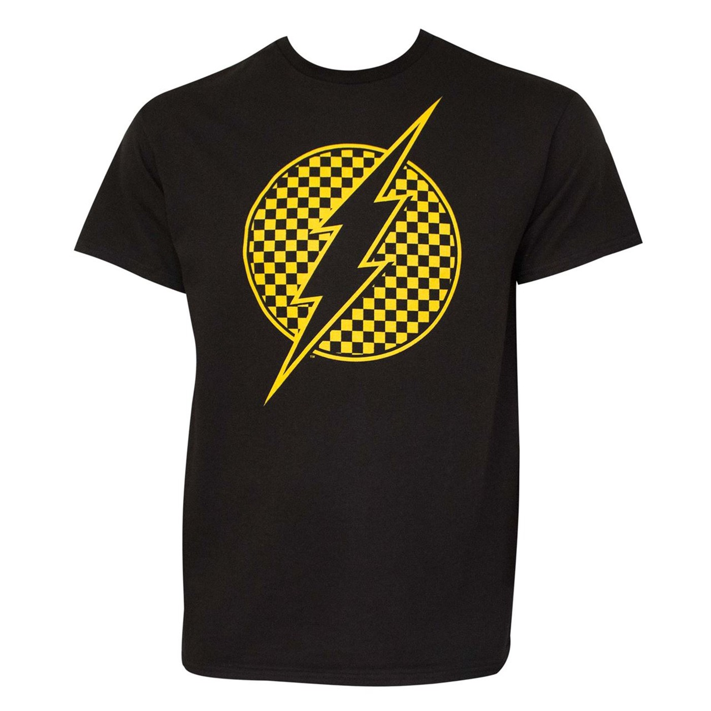 Flash Checkerboard Logo Men's T-Shirt
