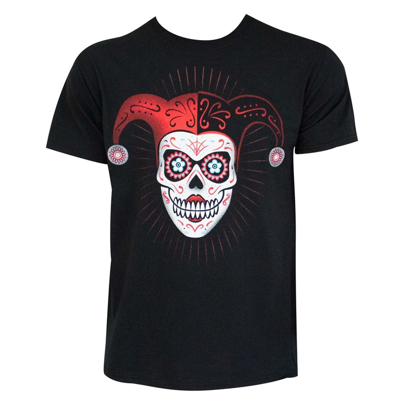 Harley Quinn Sugar Skull Men's T-Shirt