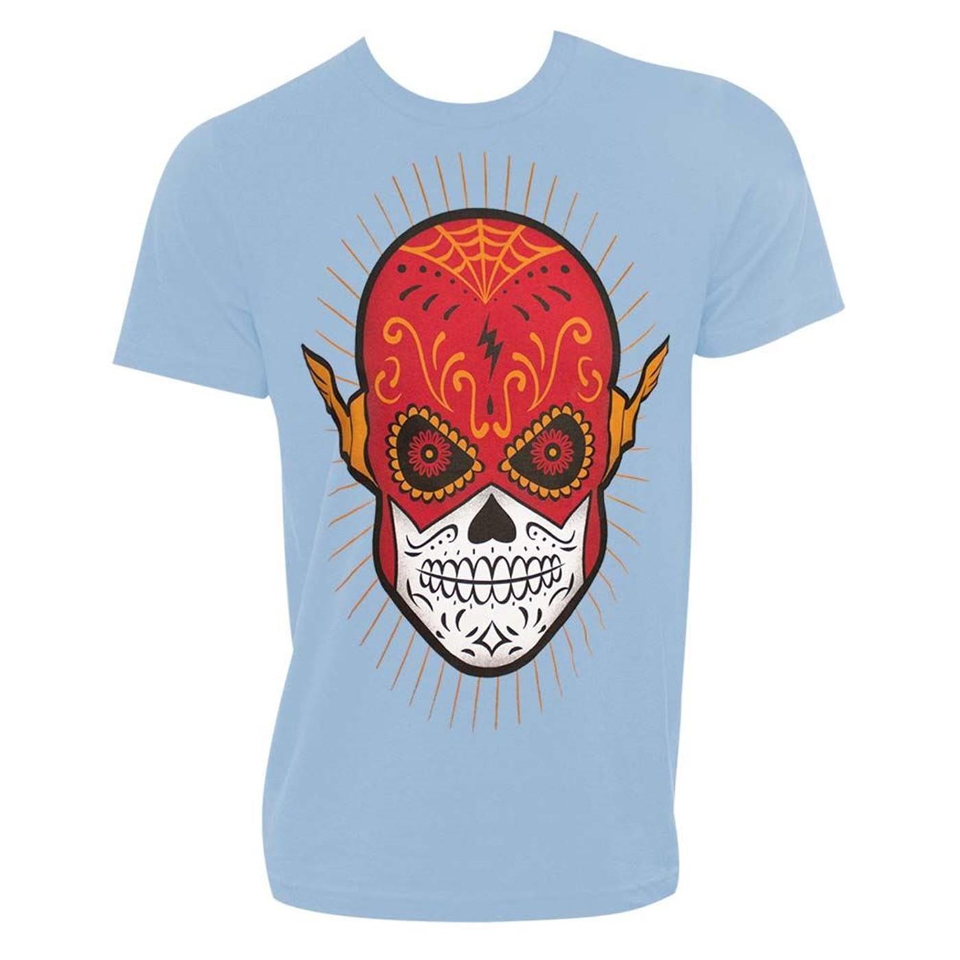 Flash Sugar Skull Men's T-Shirt