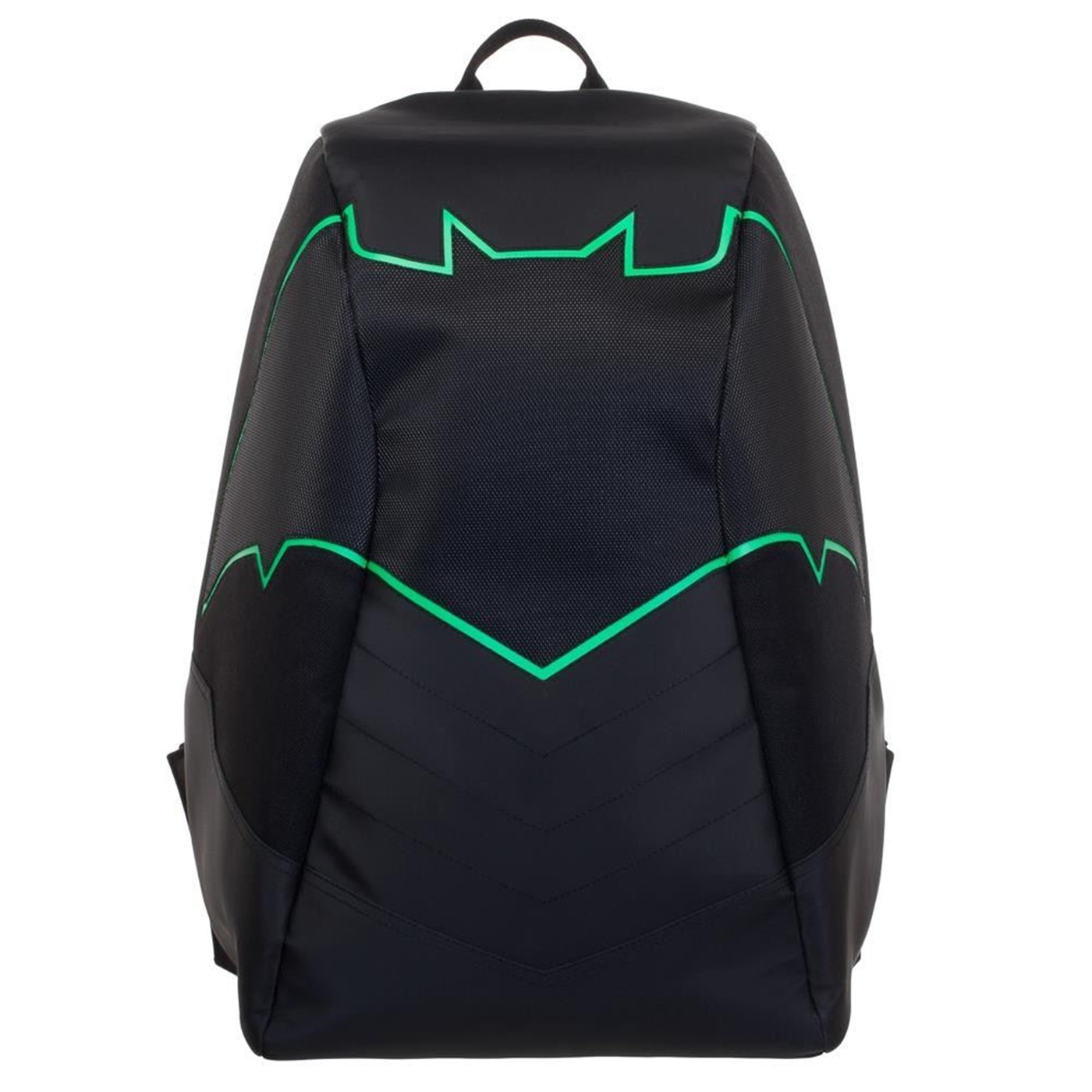Batman Green EL Lighted 3 Panel Powered Backpack