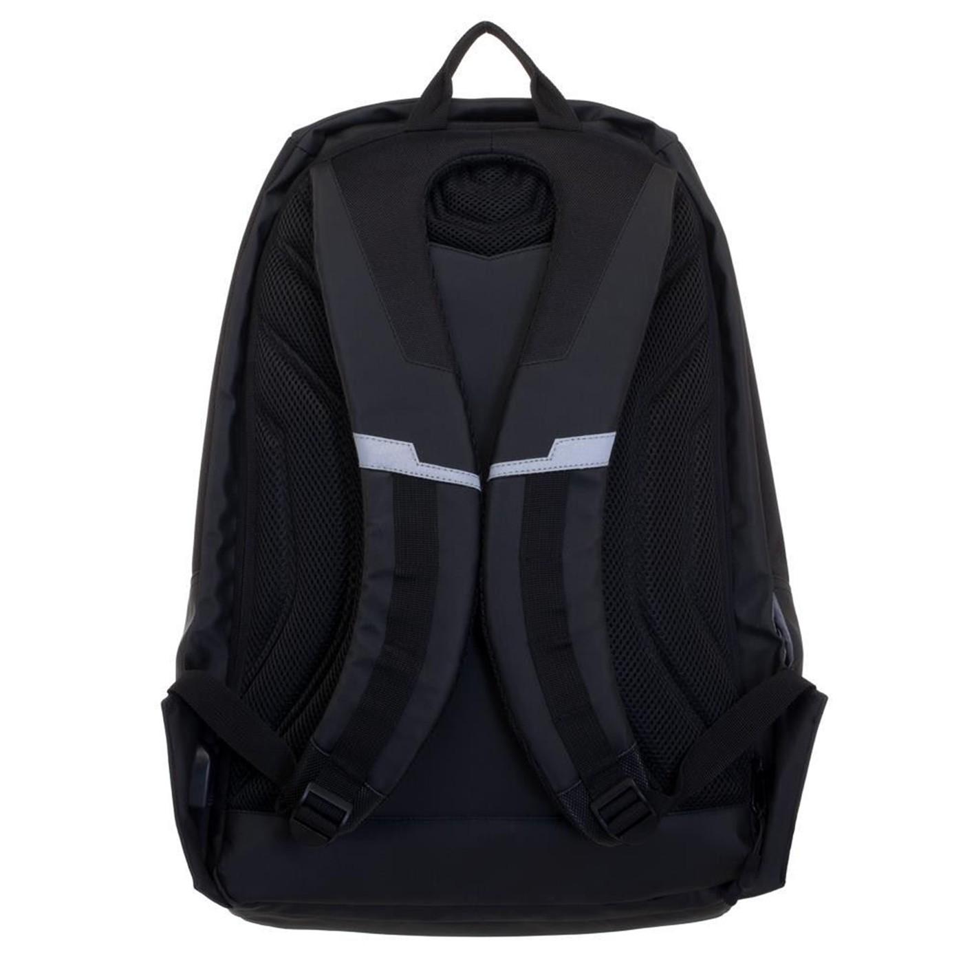 Batman Green EL Lighted 3 Panel Powered Backpack