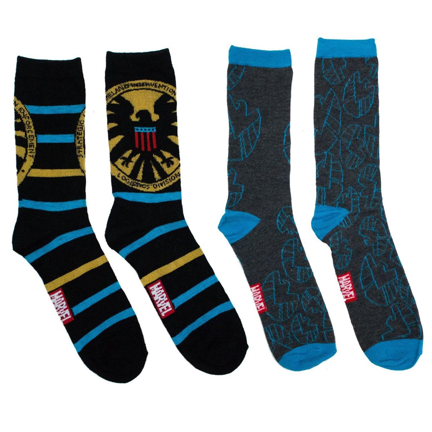 SHIELD 2-pack Crew Socks