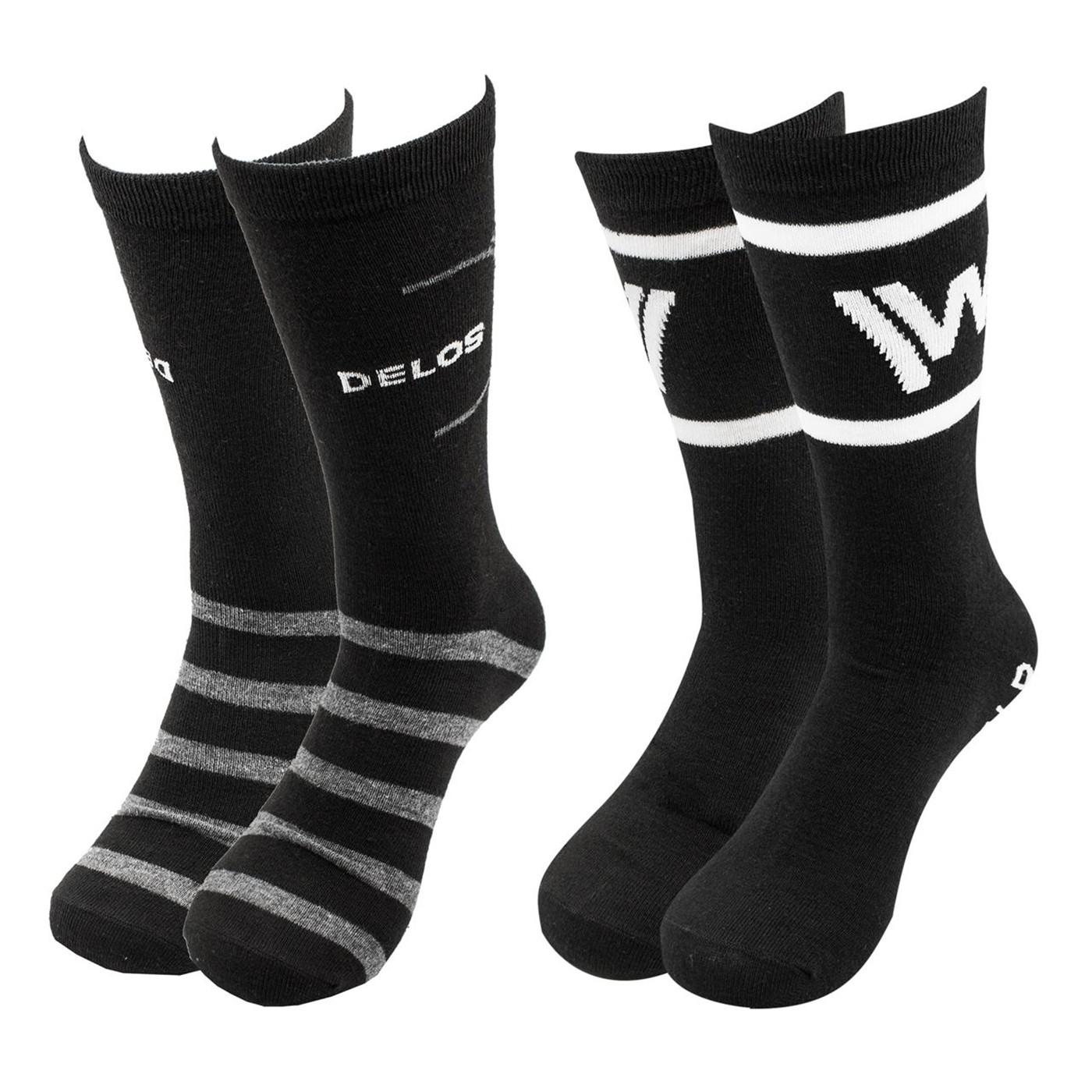 West World 2-pack Crew Socks