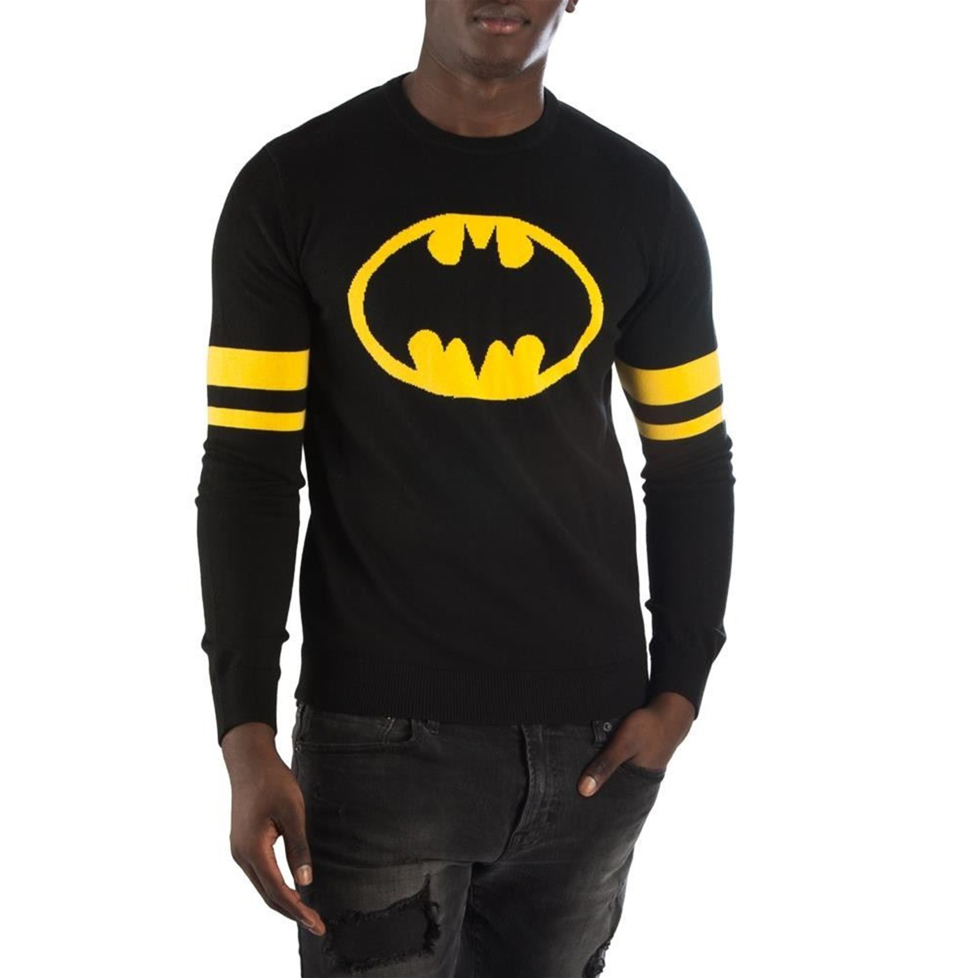 Batman Symbol Black Men's Sweater