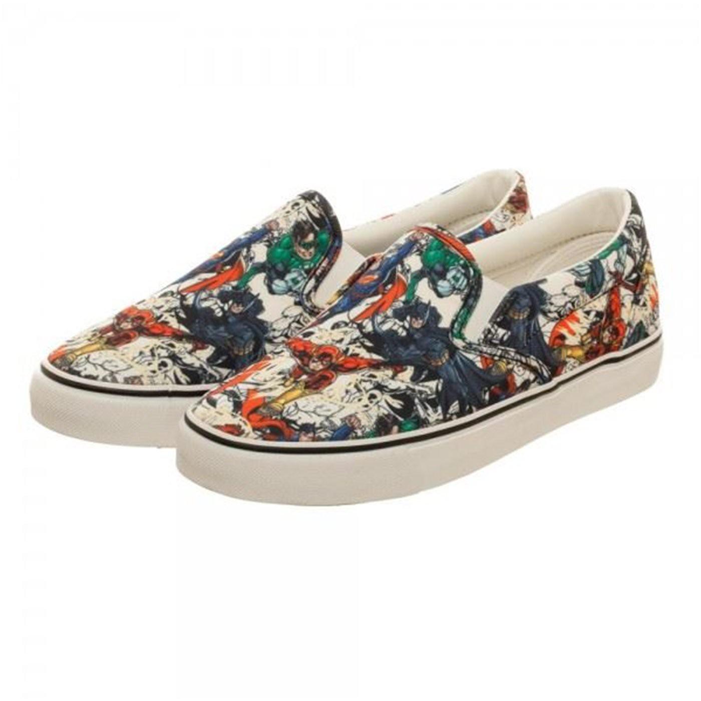 Justice League Unisex Dek Shoes