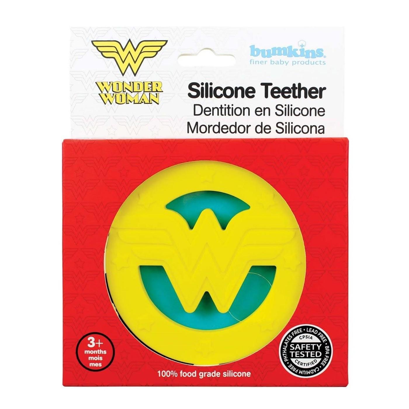 Wonder Woman Logo Teether