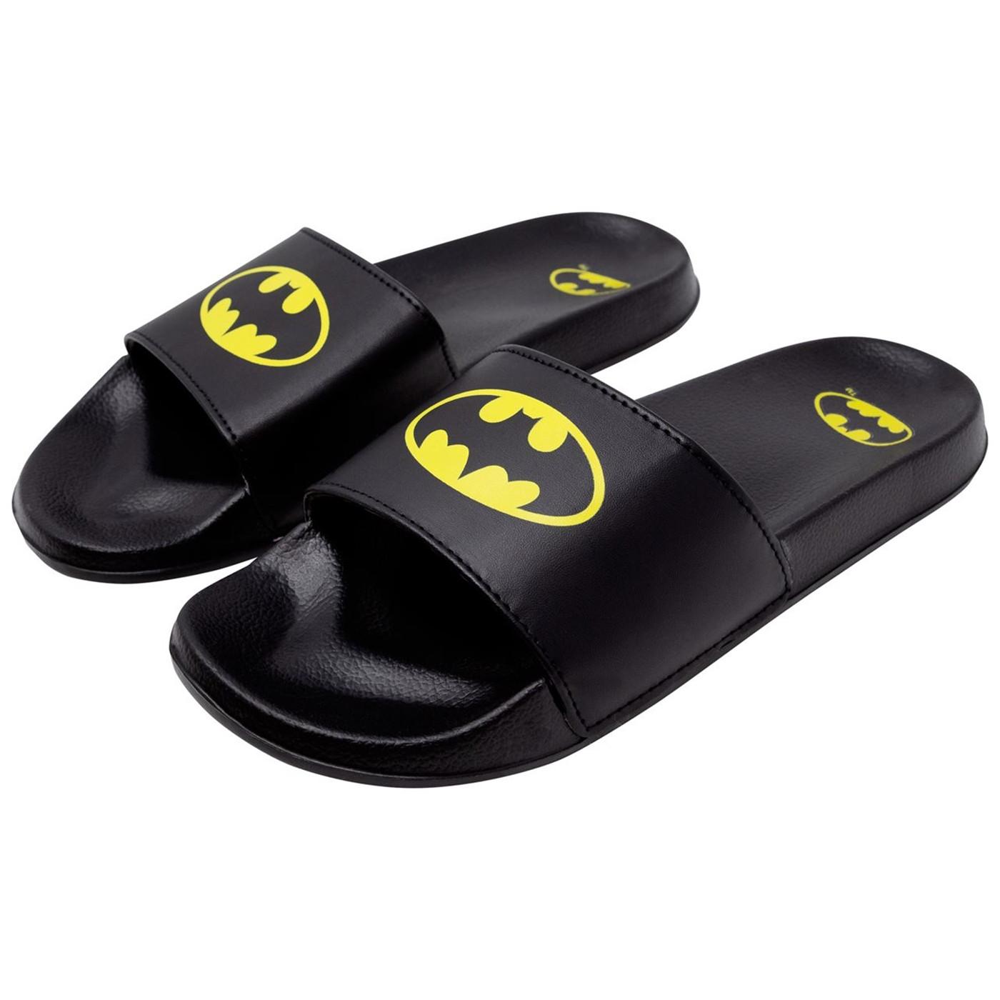 Batman Symbols Slippers
