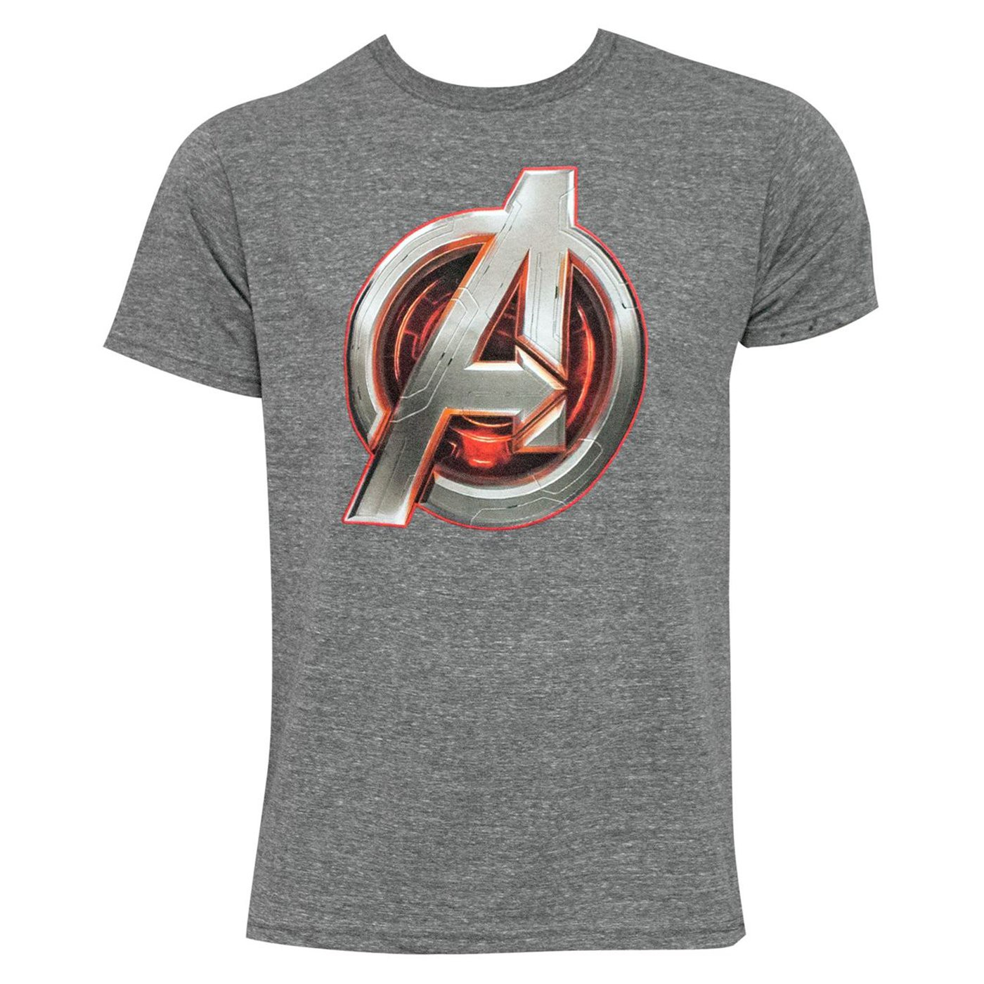 Avengers Core Icon Men's Grey T-Shirt