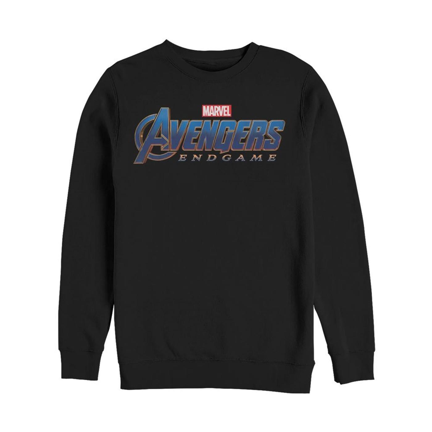 Avengers Logo Crewneck Sweatshirt