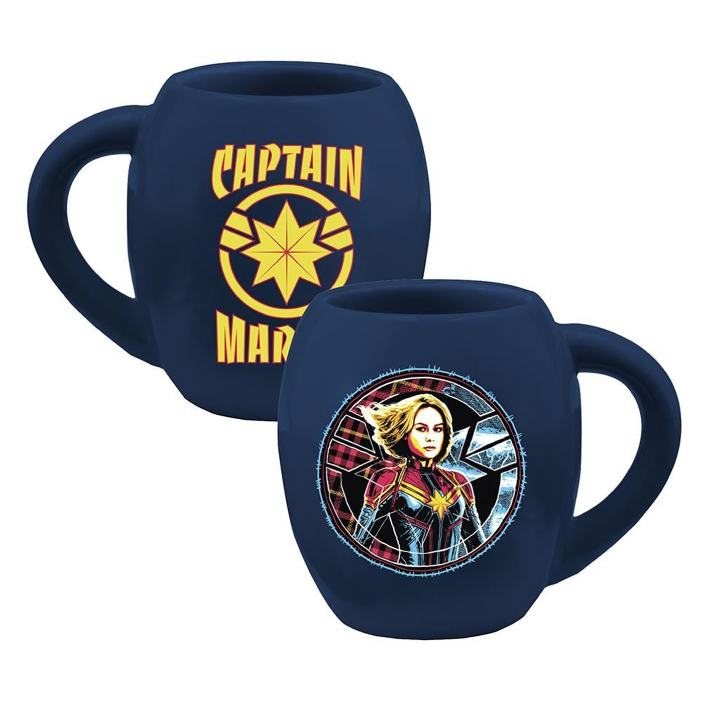 Marvel Captain Marvel 18 oz. Oval Ceramic Mug