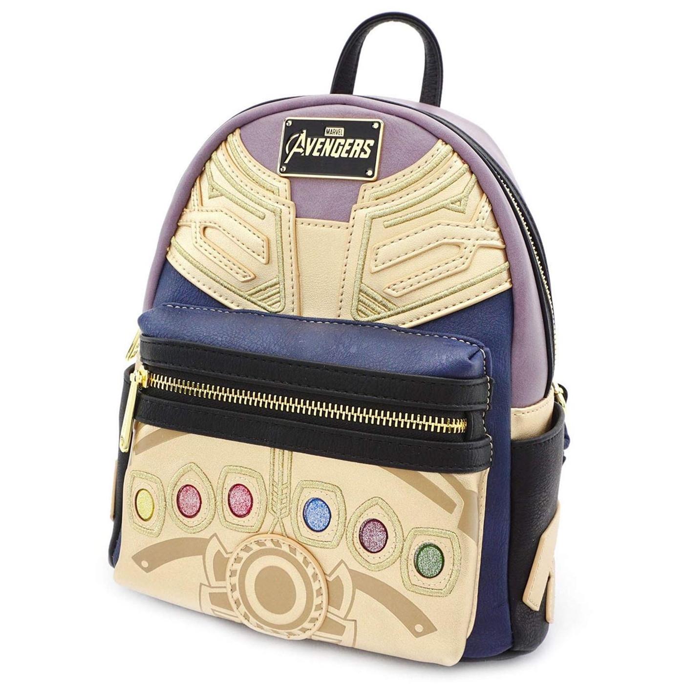 Avengers Endgame Movie Thanos Infinity Gauntlet Mini Backpack