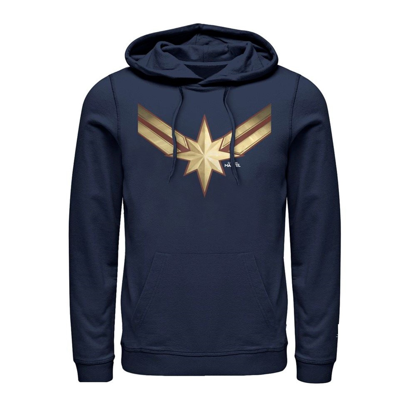 Captain Marvel Star Symbol Costume Men's Hoodie