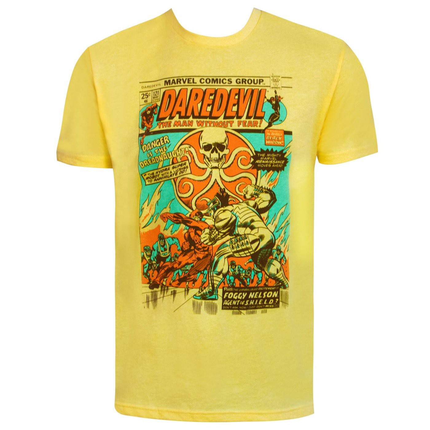 Daredevil Dreadnaught Comic Print Men's T-Shirt