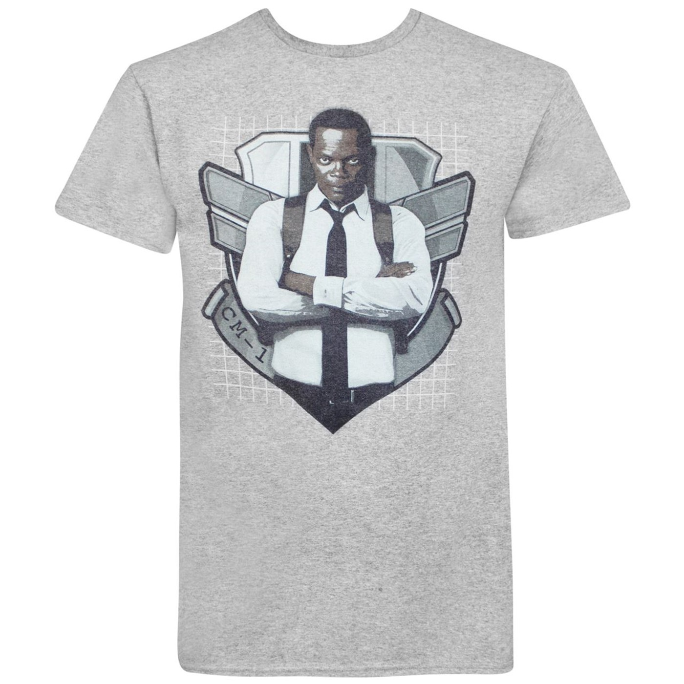 Captain Marvel Movie Nick Fury Agent of SHIELD Men's T-Shirt
