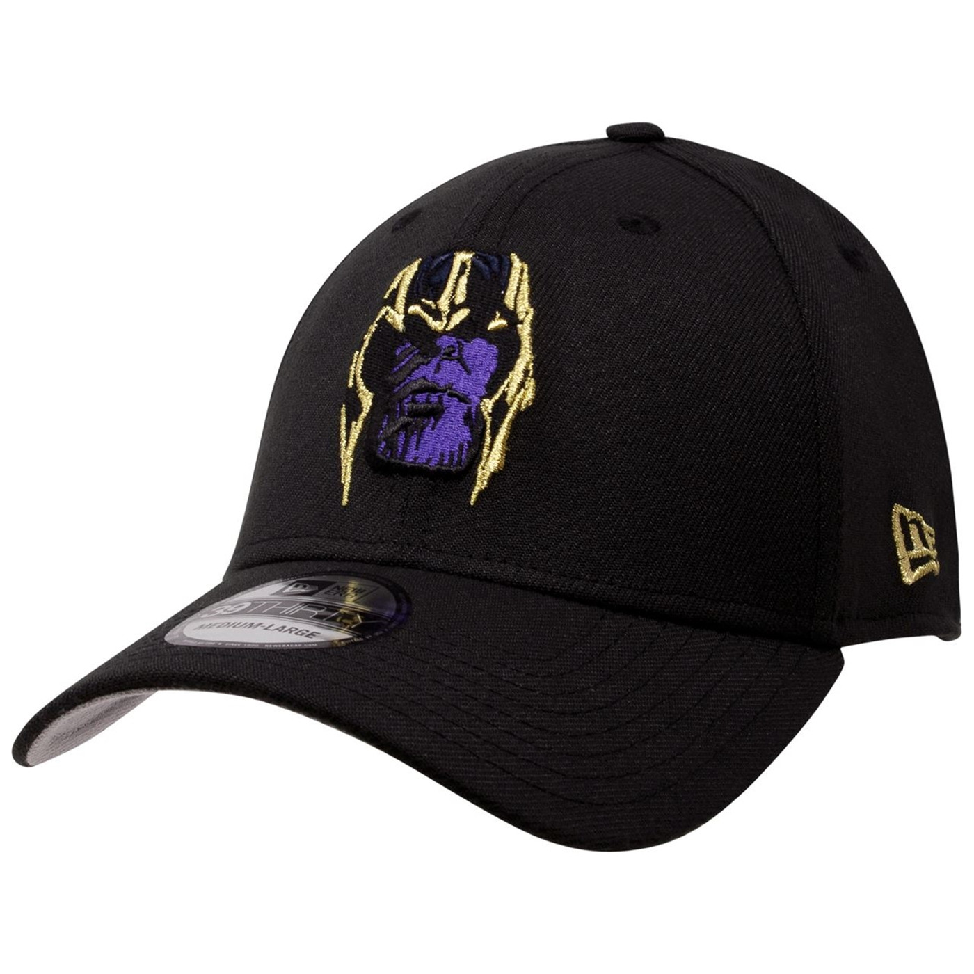 Avengers Endgame Movie Thanos Armored 39Thirty Fitted Hat