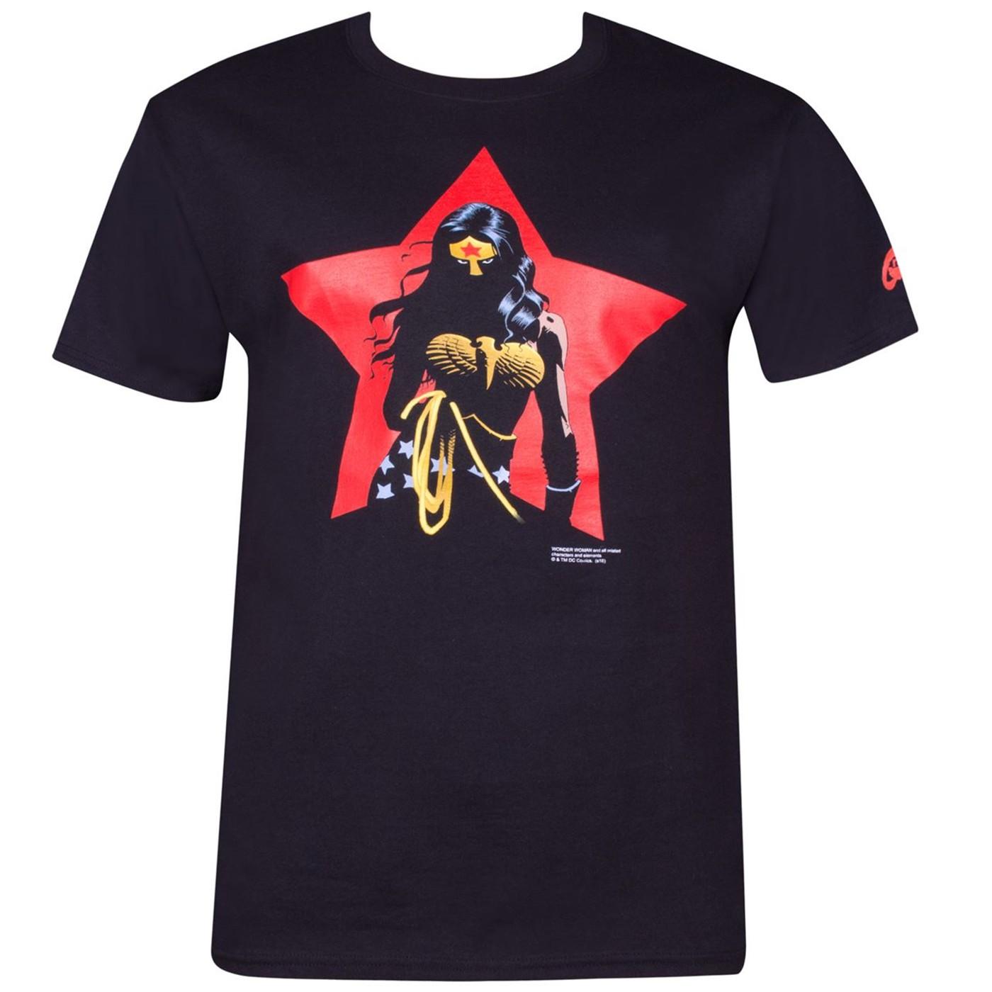 Wonder Woman Star by Eduardo Risso T-Shirt