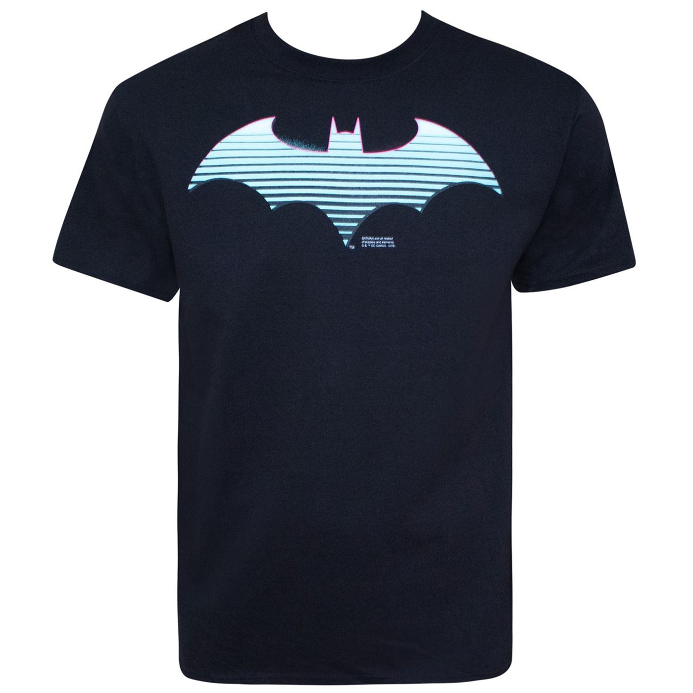 Batman Neon Symbol Men's T-Shirt
