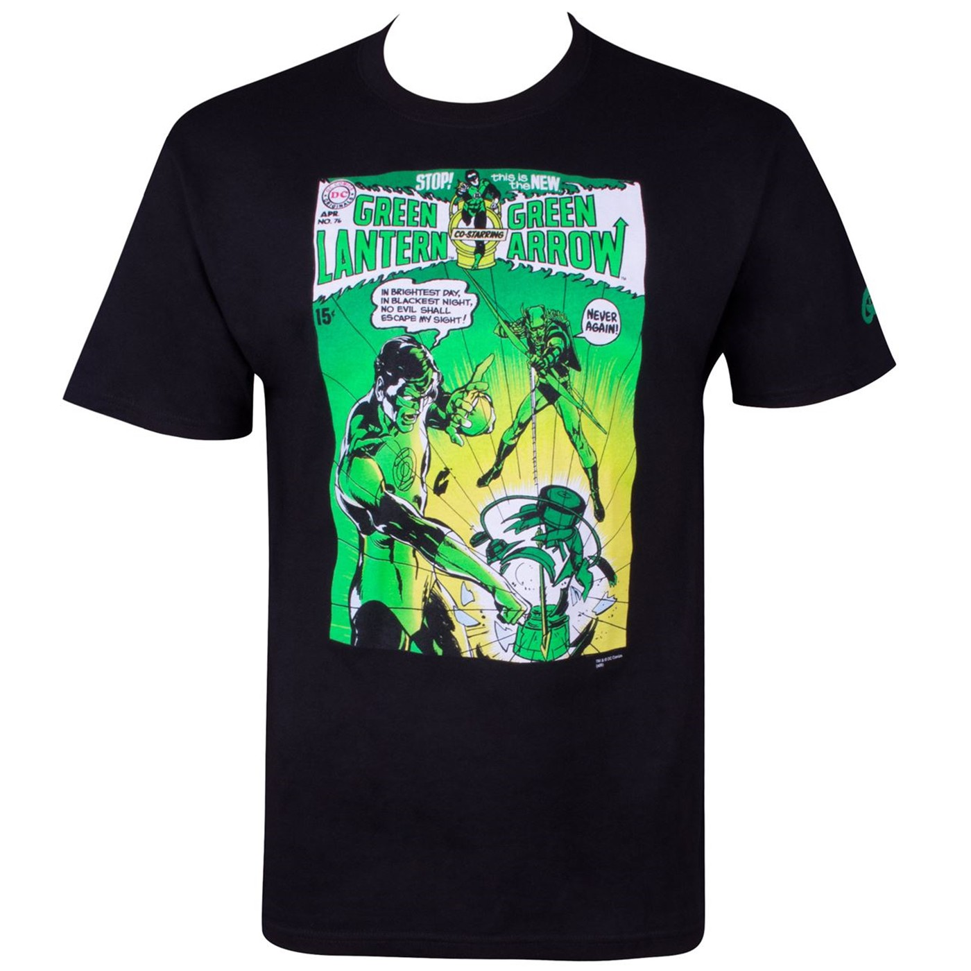 Green Lantern and Green Arrow #76 Comic by Neal Adams Men's T-Shirt