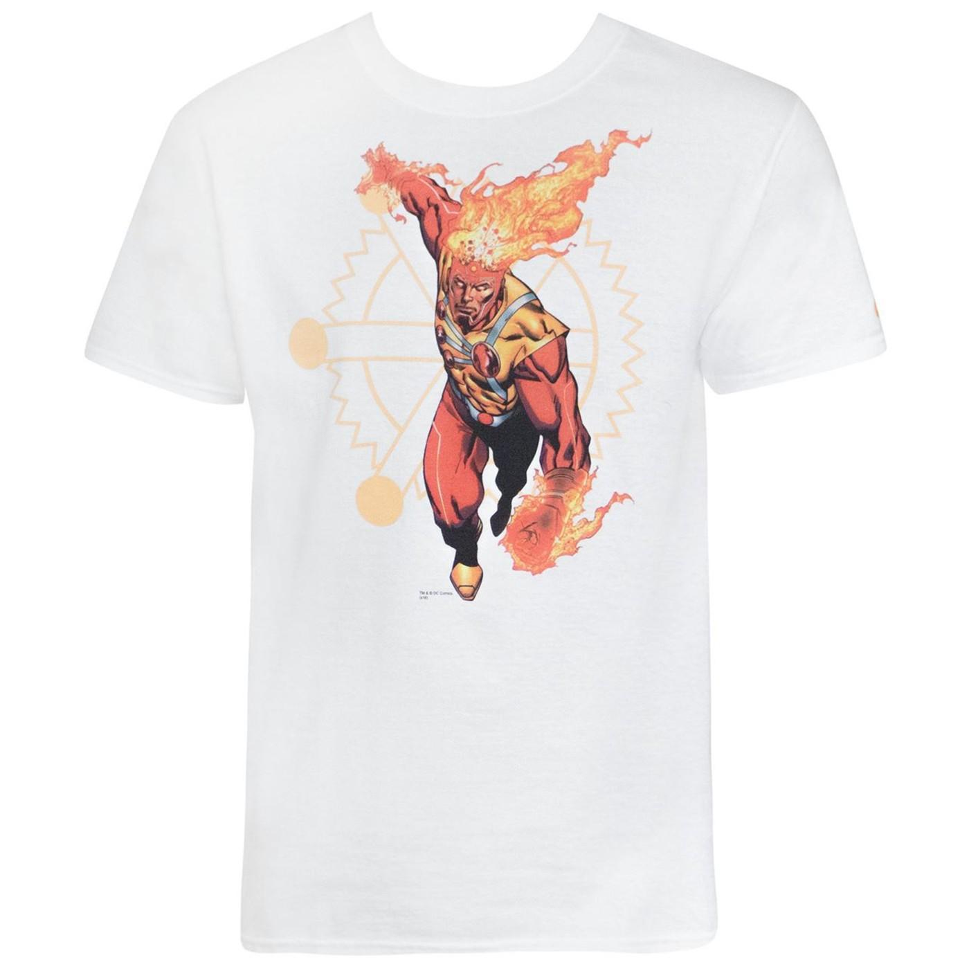 Firestorm by Aaron Lopresti Men's T-Shirt