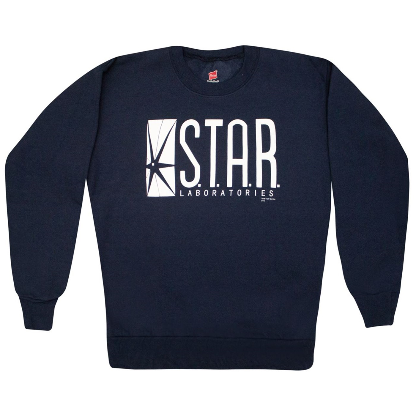 Star Laboratories Navy Youth Crew Neck Sweatshirt