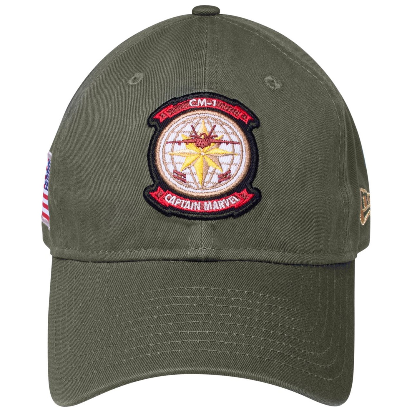 Captain Marvel Air Force Pilot 9Twenty Adjustable New Era Hat