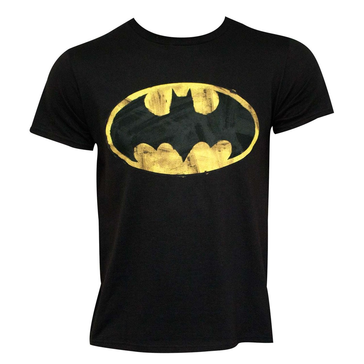 Batman Classic Logo 30 Single Super Soft Black T-Shirt
