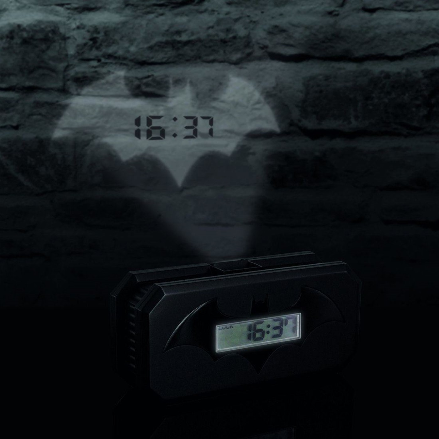 Batman Projection Alarm Clock V2