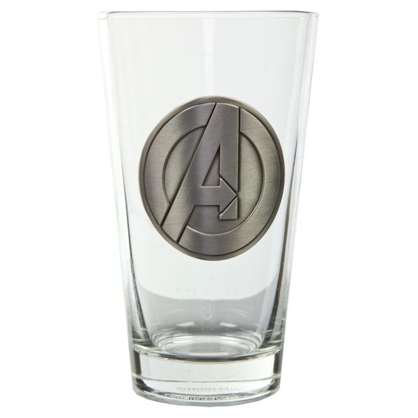 Avengers A Symbol Clear Pint Glass