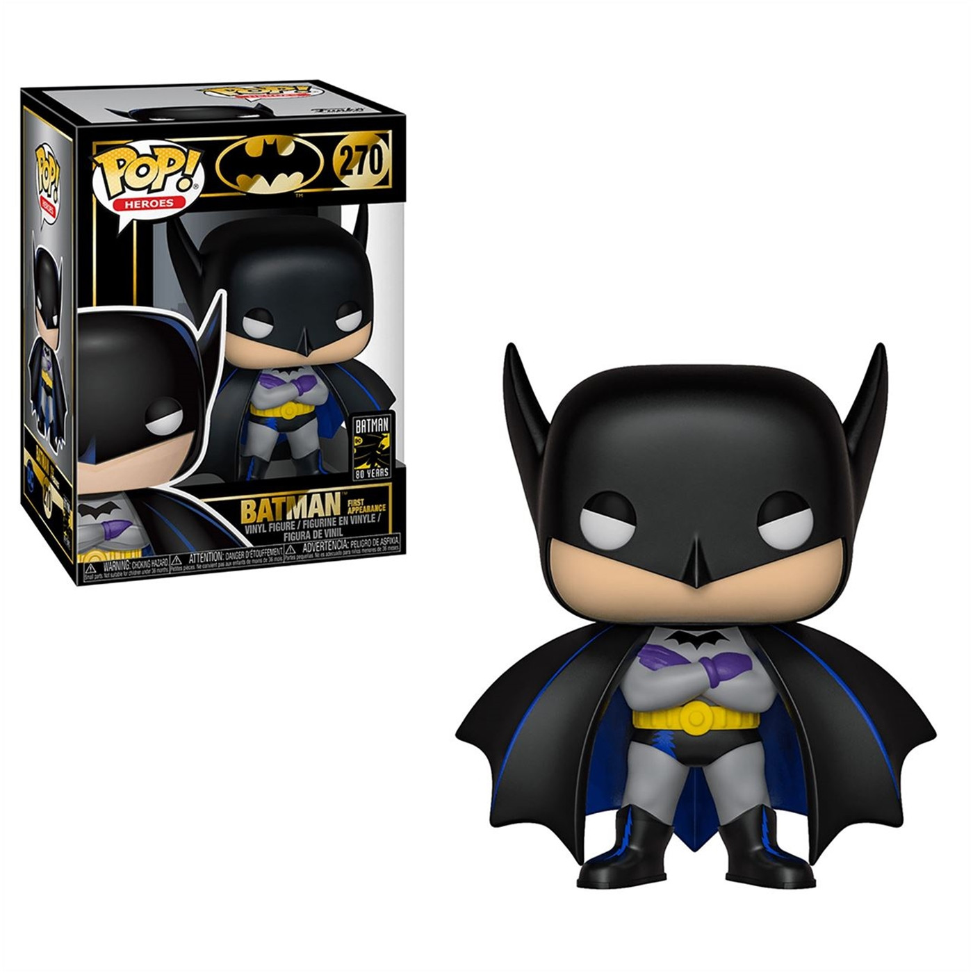 Pop! Heroes: Batman 80th - Batman 1st Appearance (1939)