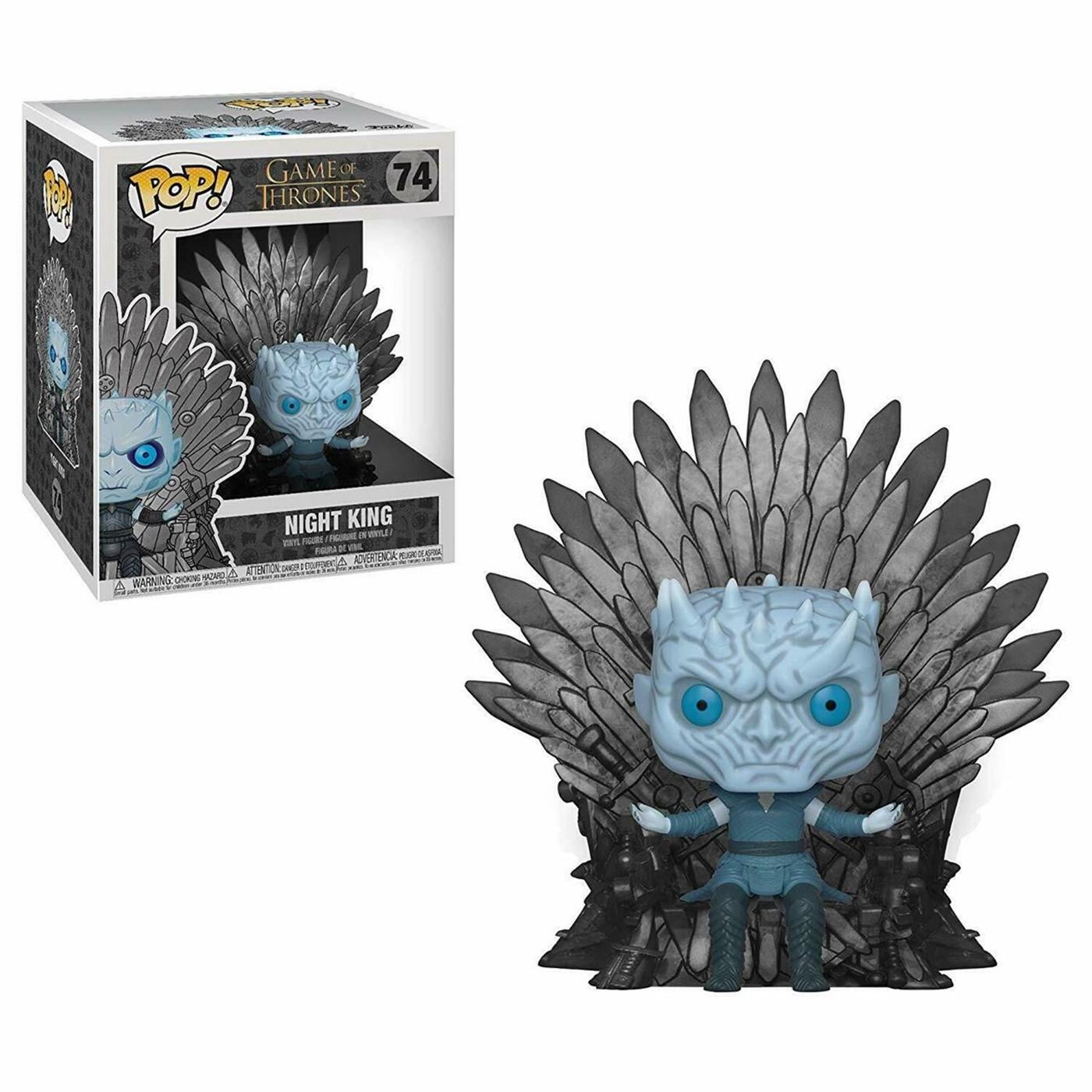 POP Deluxe: GOT S10 - Night King Sitting on Throne