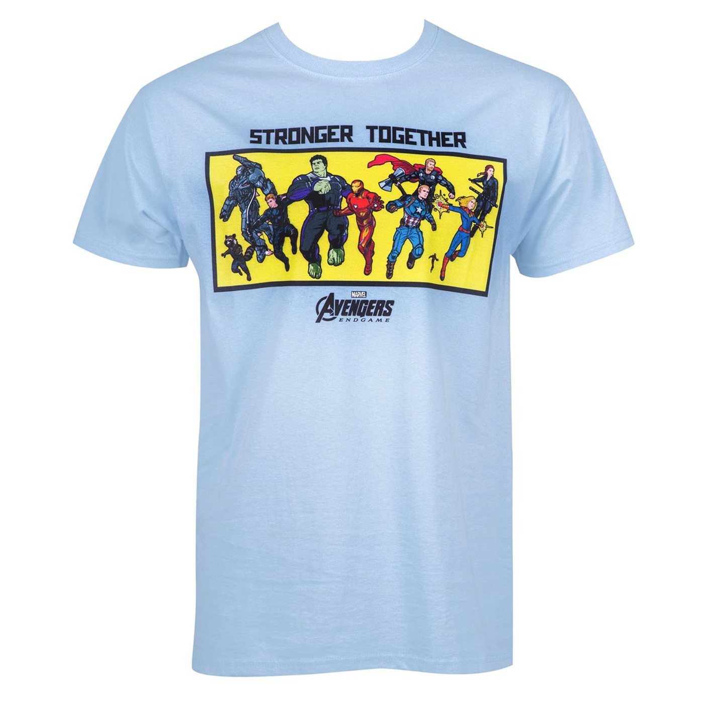 Avengers Endgame Stronger Together Lineup Men's T-Shirt