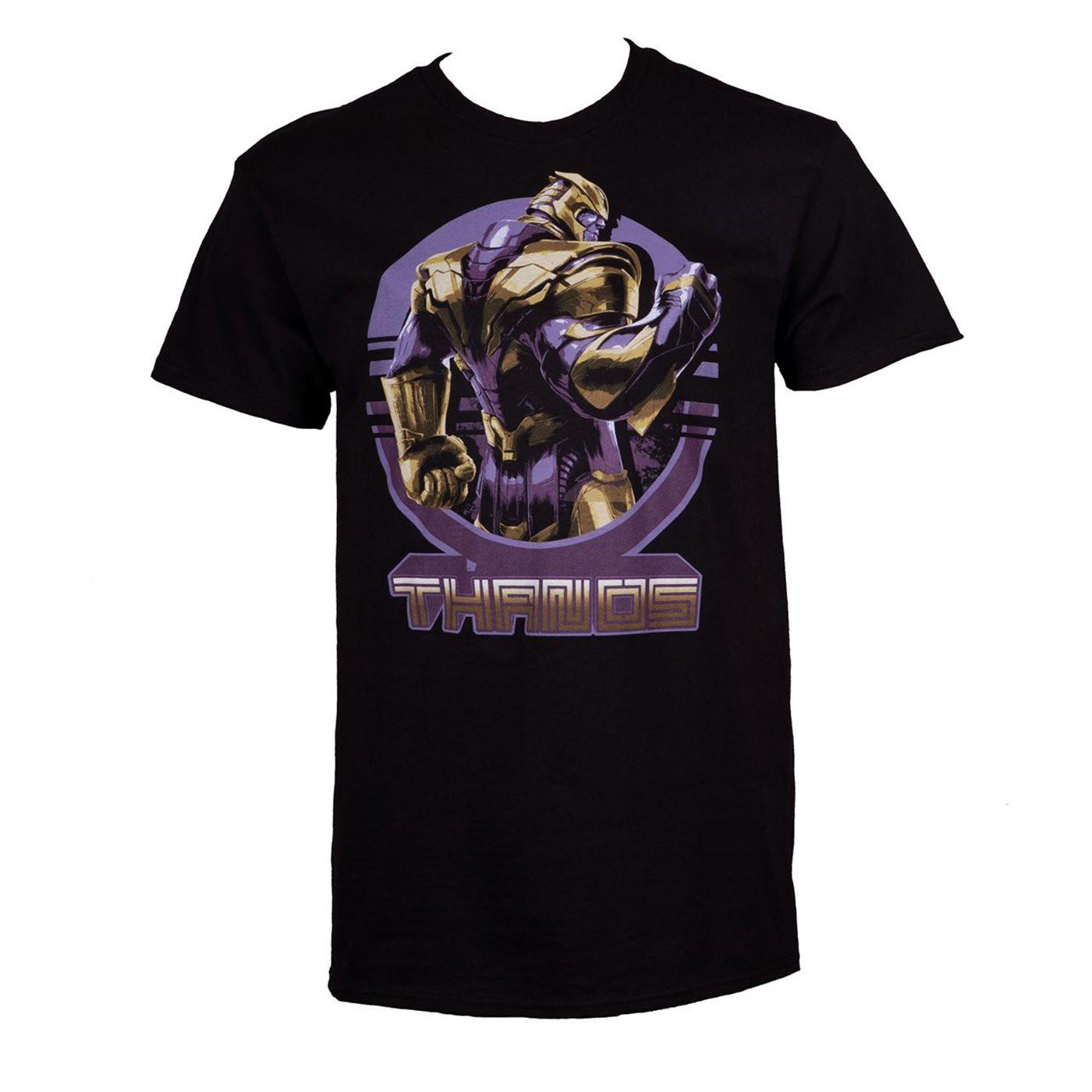 Thanos Warrior Stance Avengers Endgame Men's T-Shirt