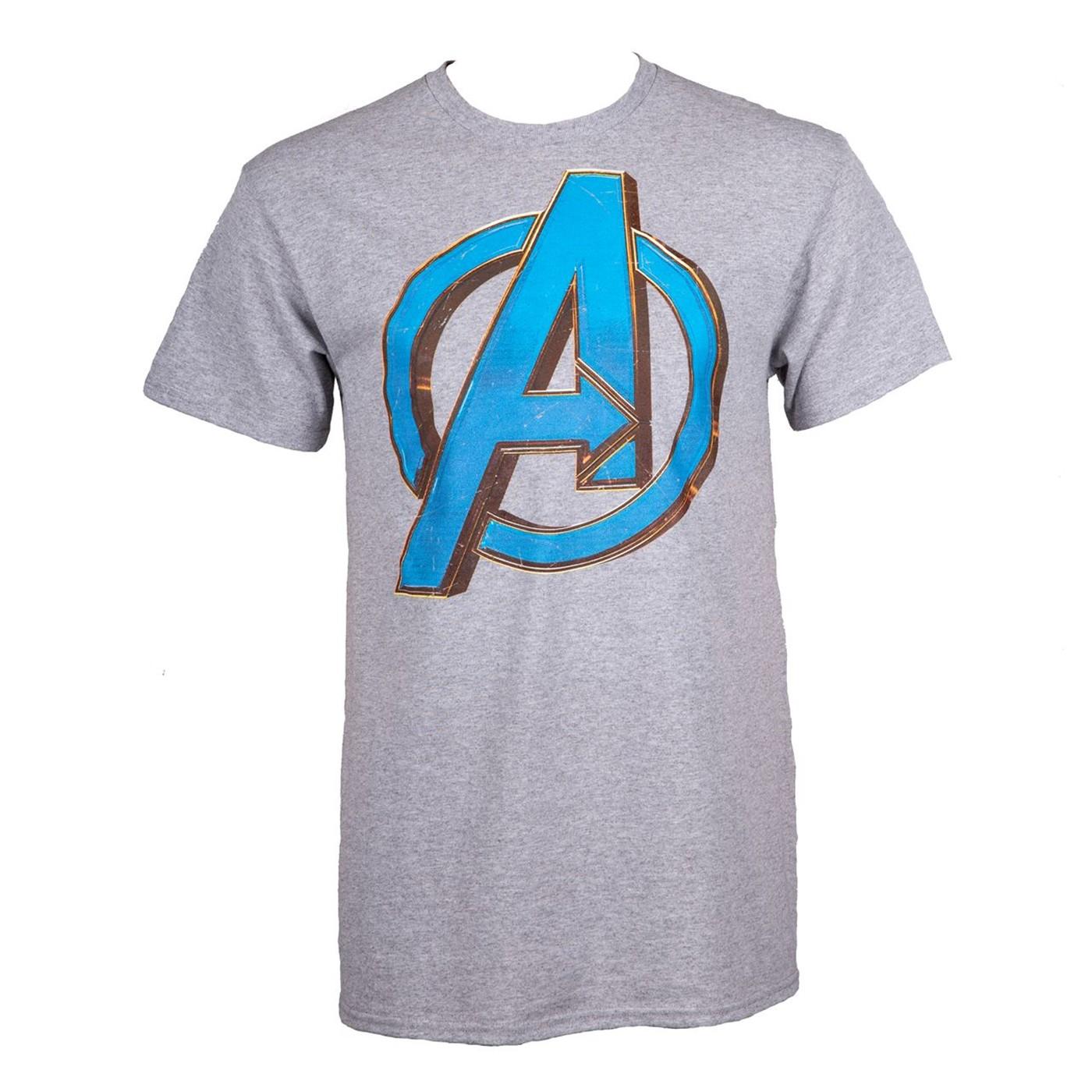 Avengers Endgame A Logo Men's T-Shirt