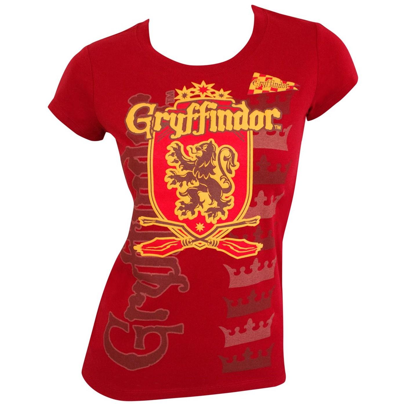 Best Harry Potter Team Gryffindor T-Shirt