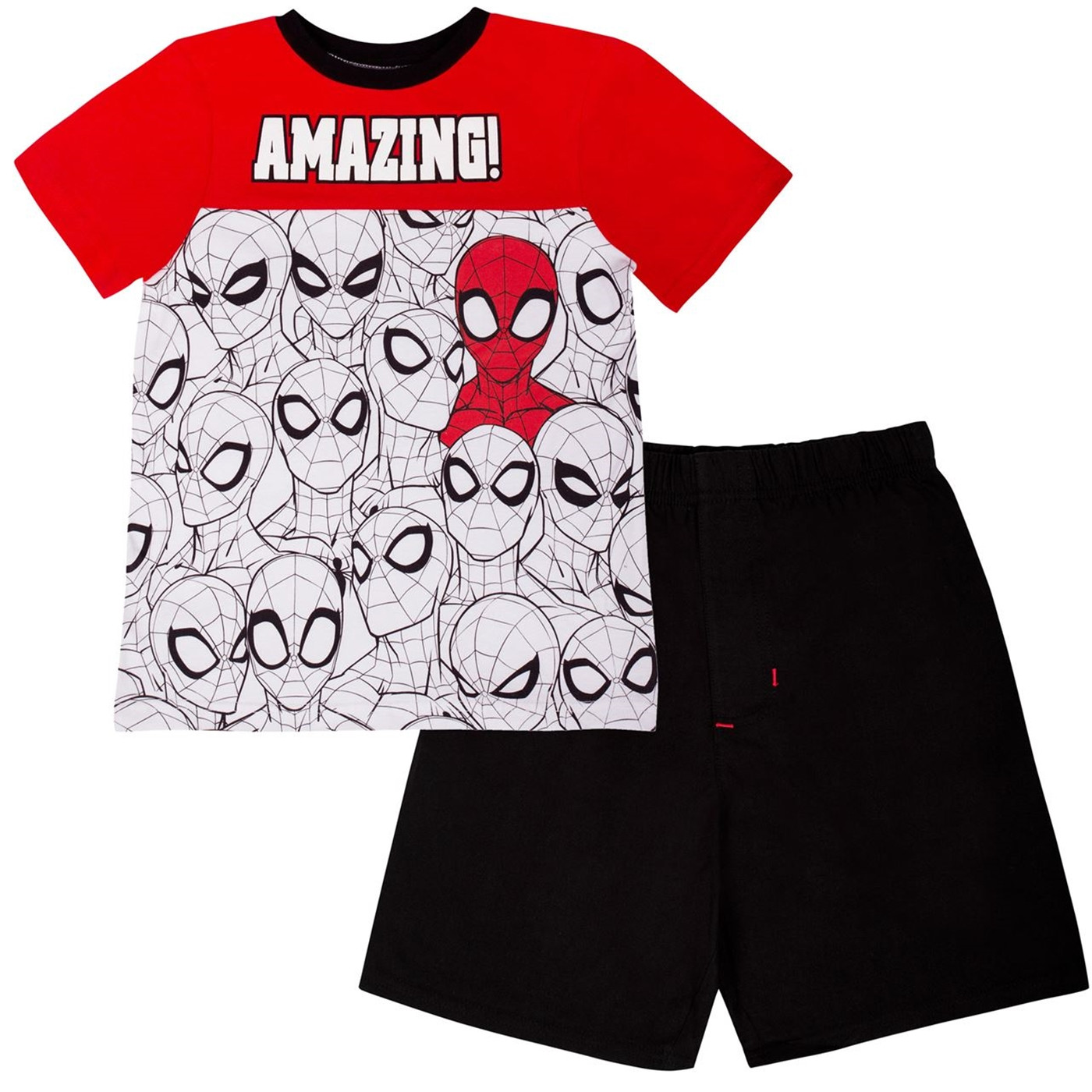 Spider-Man Spliced Kids Short Set