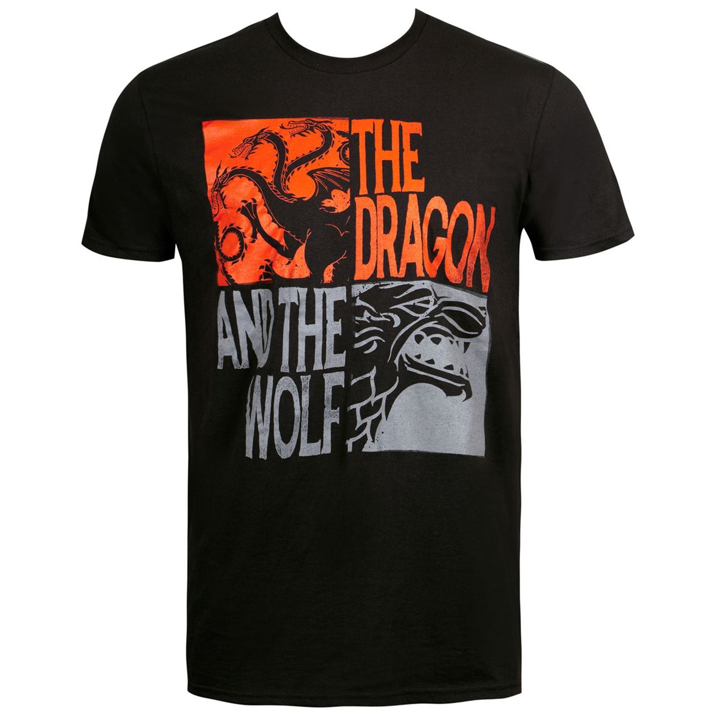 The Dragon and The Wolf Game of Thrones Men's T-Shirt