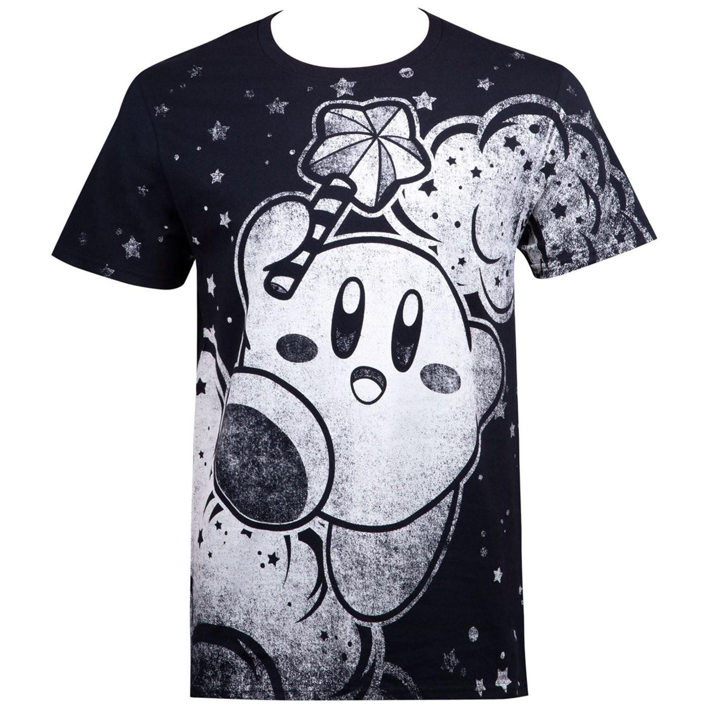 Kirby Sublimated Nintendo Men's T-Shirt