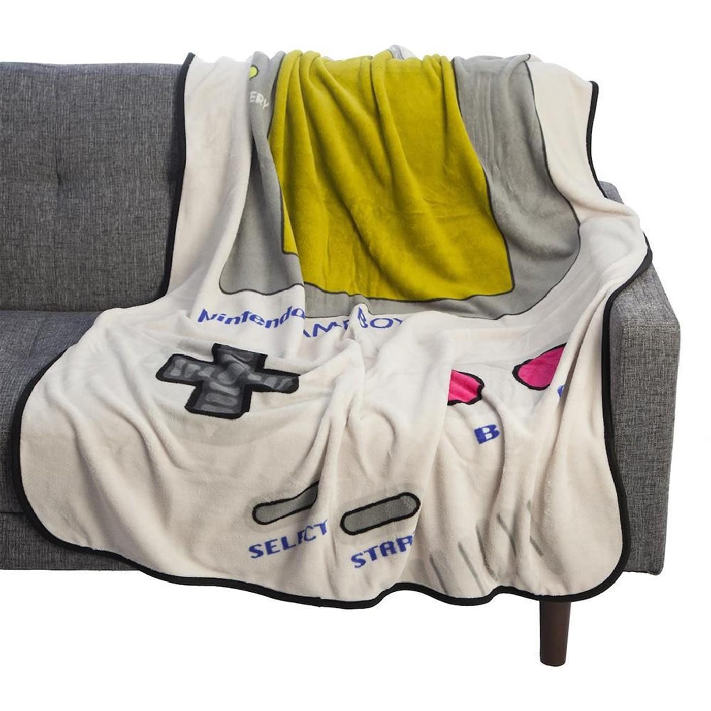 Nintendo Gameboy 48 X 60 In. Digital Fleece Throw