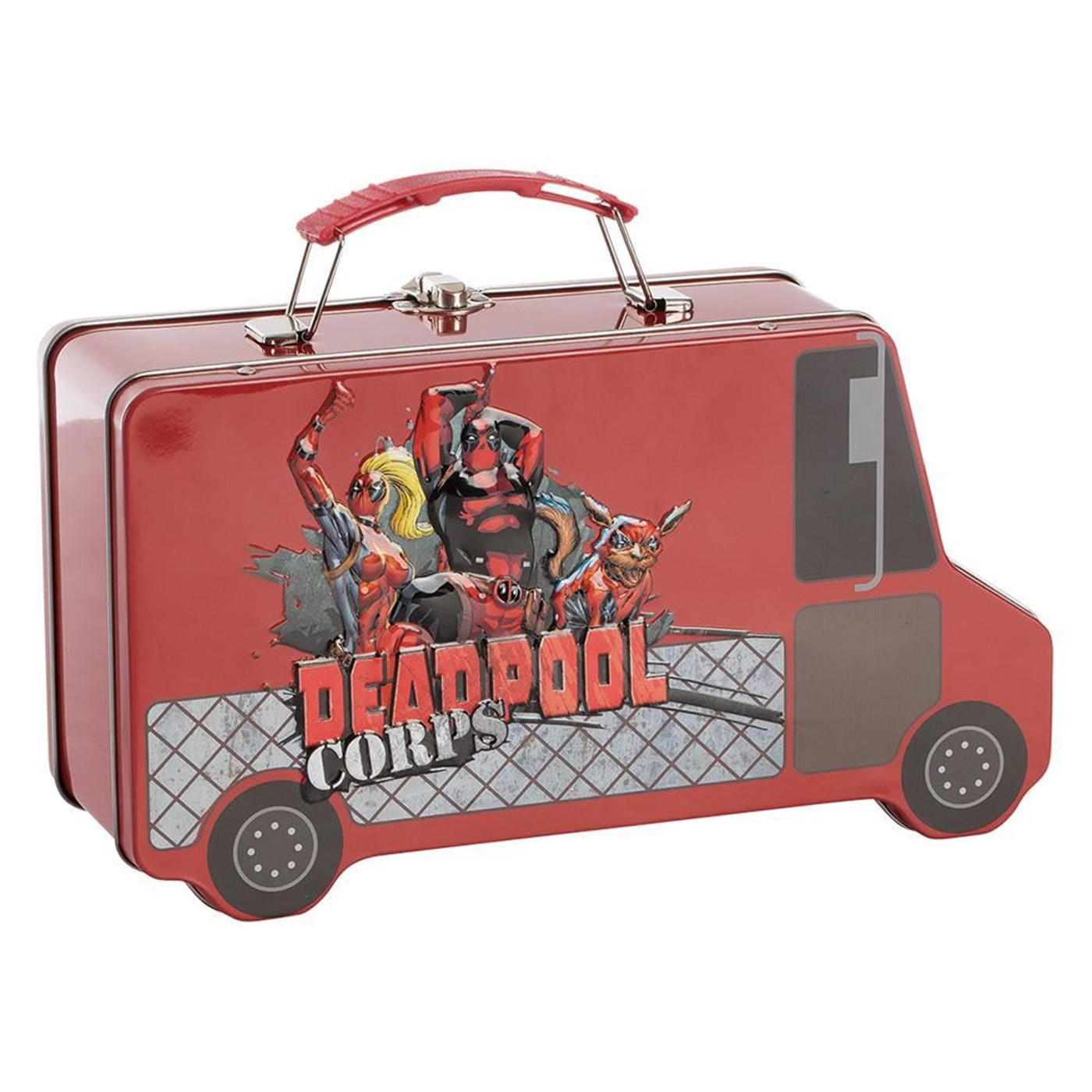 Marvel Deadpool Truck Shaped Tin Tote