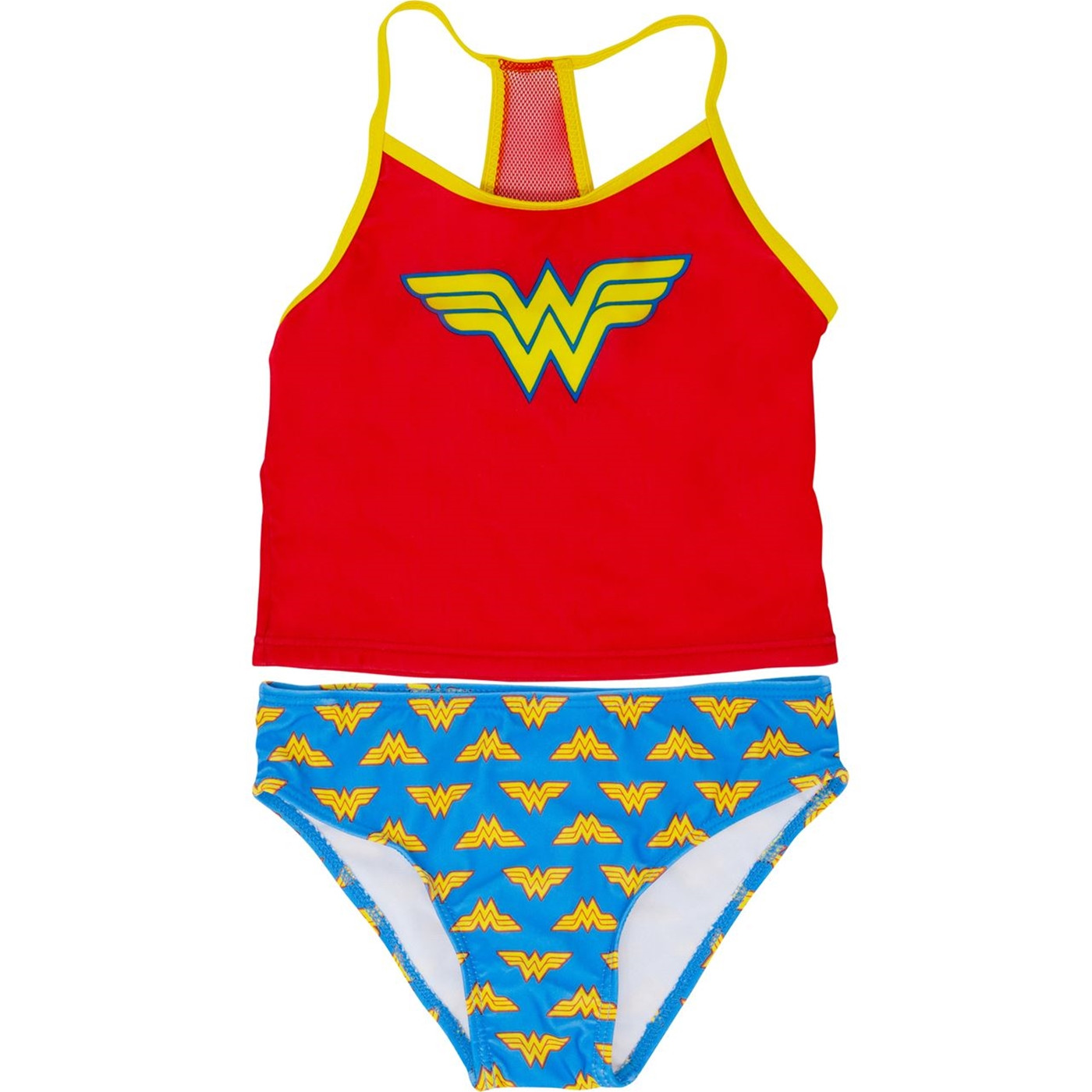 Wonder Woman Costume Juvy Tankini Swimsuit