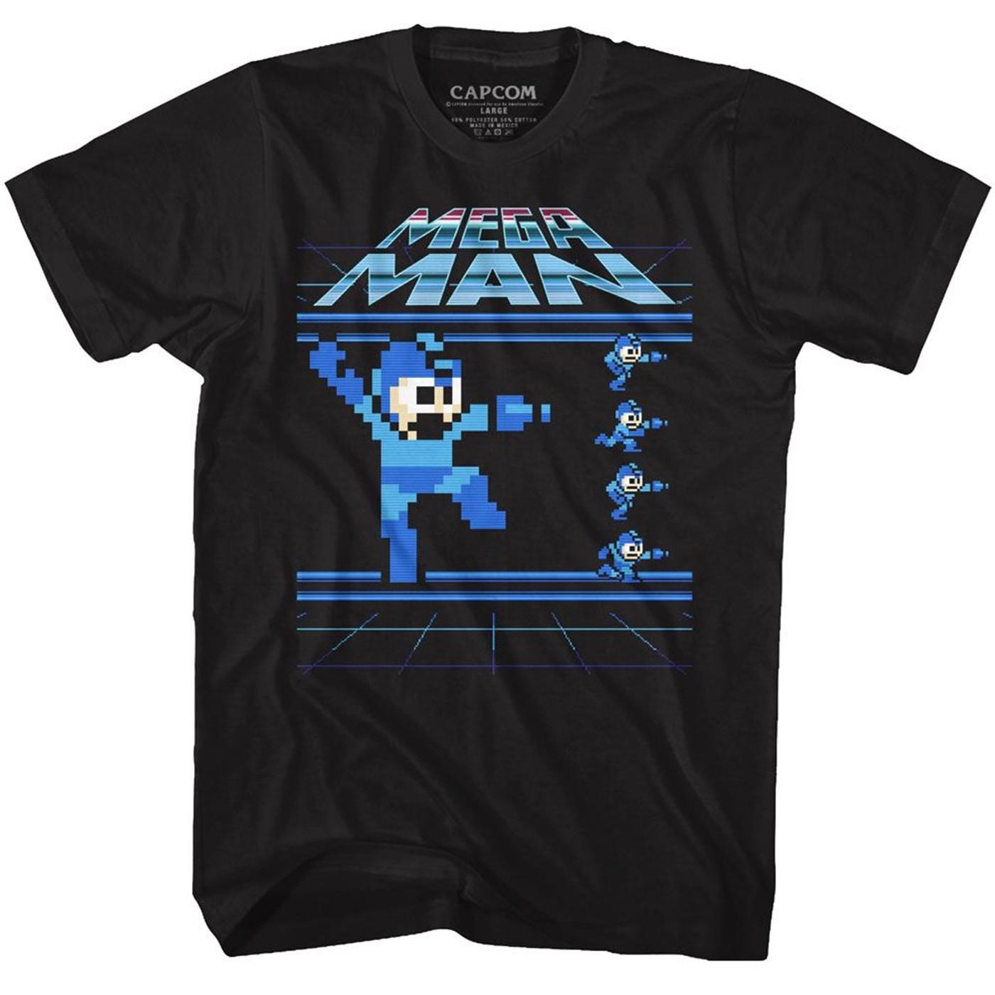 Mega Man Pixelated T-Shirt