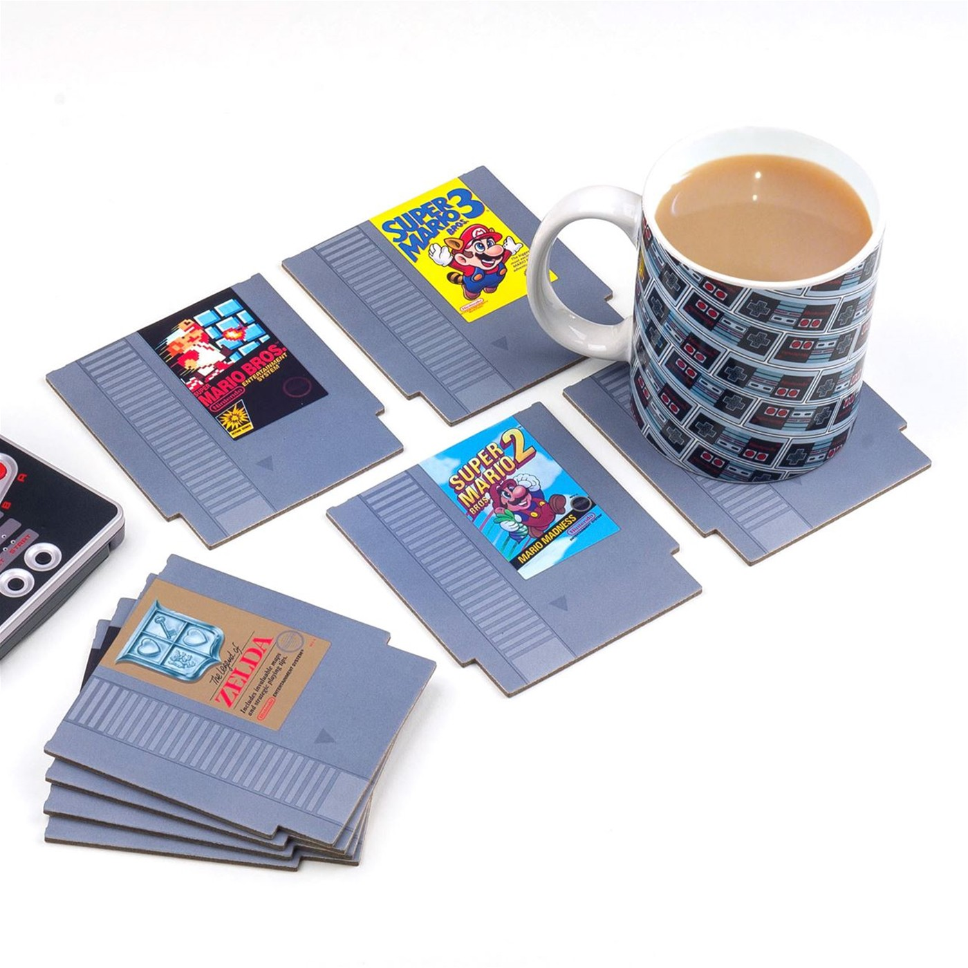 NES Cartridge Coasters